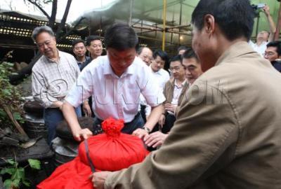 剑南春集团恢复生产