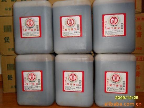 台湾产餐厅酱油5000ml装×4桶/件