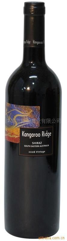 供应澳大利亚袋鼠山酒园设拉子干红葡萄酒