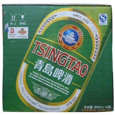 青岛啤酒系列青岛优质青岛醇厚青岛经典啤酒600mi