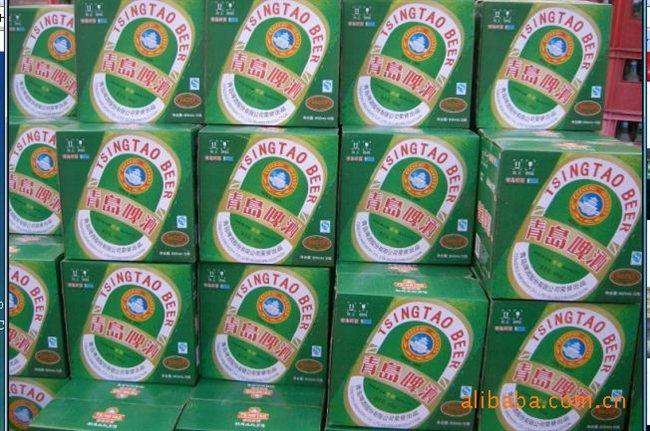 供应青岛纯生啤酒 青岛啤酒 青岛醇厚 啤酒