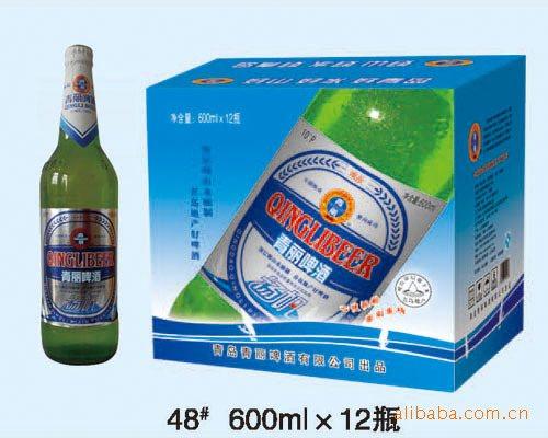 来自青岛原产地啤酒,采用崂山矿泉水