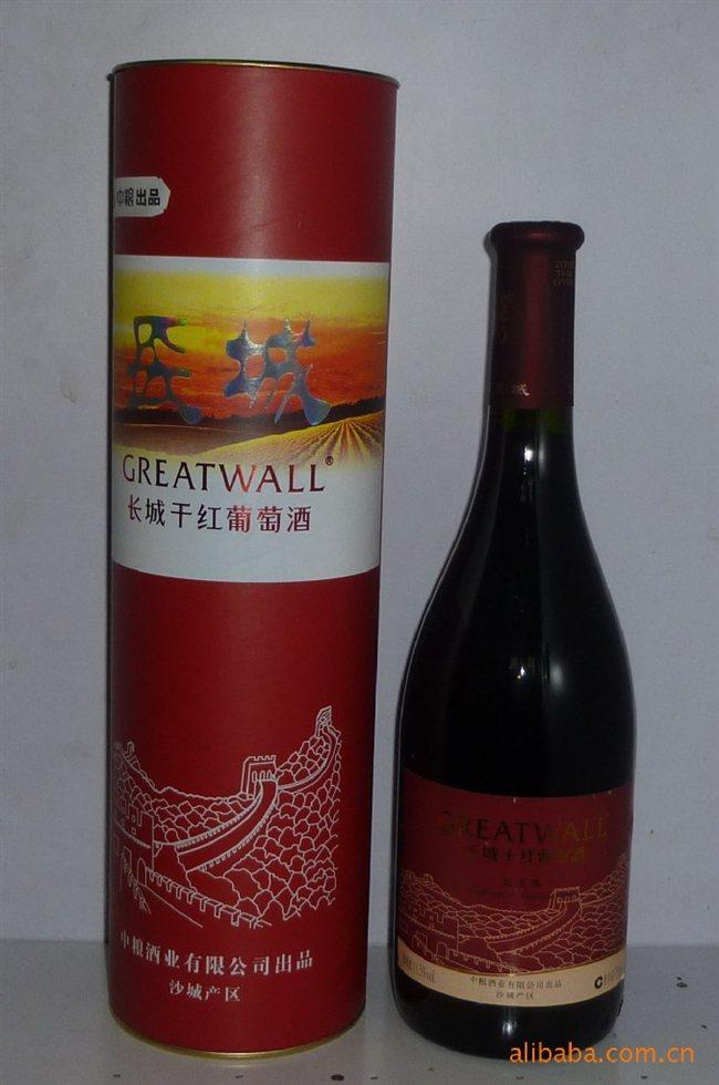长城干红橡木桶陈酿干红葡萄酒