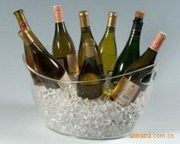 元宝形塑料冰桶,红酒,香槟冰桶