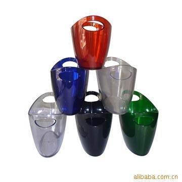 塑料冰桶,红酒冰桶,酒吧用品,酒具