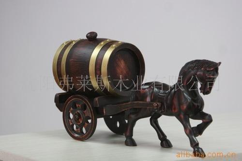 供应弗莱斯精品橡木桶橡木酒桶单马拉车1