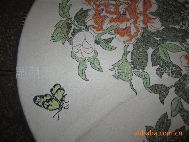 大量供应云南少数民族传统手工艺刺绣 抛花绣图片