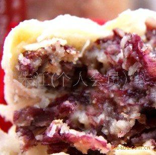 月饼 嘉华鲜花饼 鲜花饼 花味云南味 礼盒 高清图片