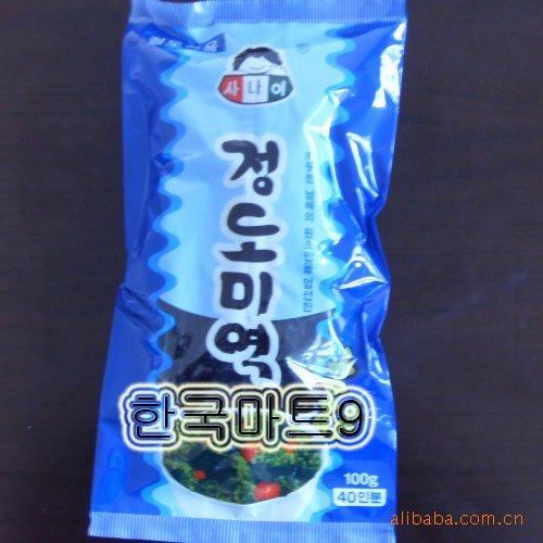 供应*韩国食品*调味品*韩国海苔*小伙子海苔礼品盒