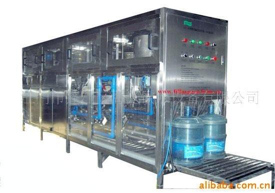 5加仑桶自动清洗灌装机