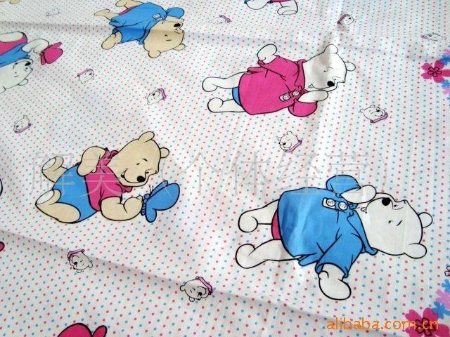 儿童床单布料贴图;