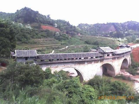 江西赣州信丰大桥风景