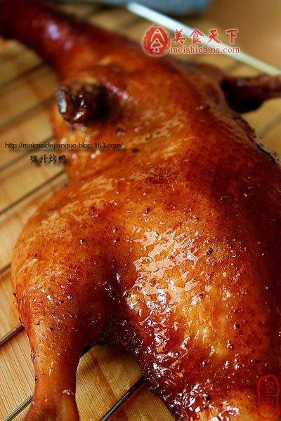 红红火火过大年!:蜜汁烤鸭