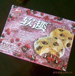 165g红豆巧克力软曲奇 软式甜点 独立包装