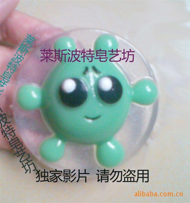 批发供应卡通礼品皂 可爱淘气水宝宝透明皂