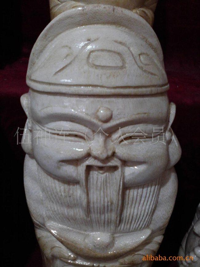 订做四川特色手工艺品 竹根雕佛像