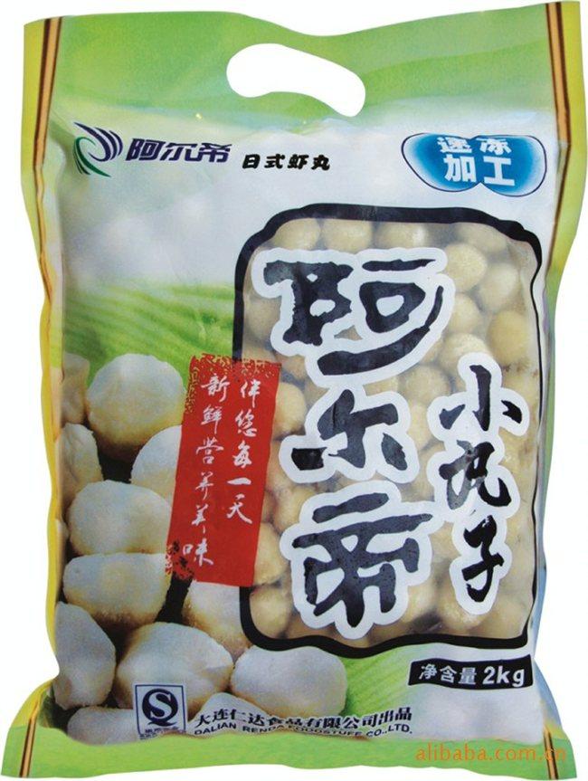 供应礼包 速冻海鲜 丸子 面包屑海鲜 礼包_丹东仁达