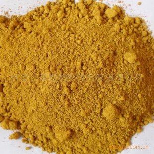 的树皮的黄色粉末状提取物产品