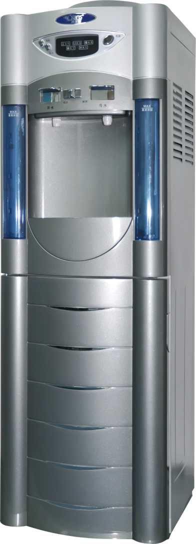 冷水热水2个开关,操作简单方便 水柱汽泡柱子,美观大方,装饰家居 净水