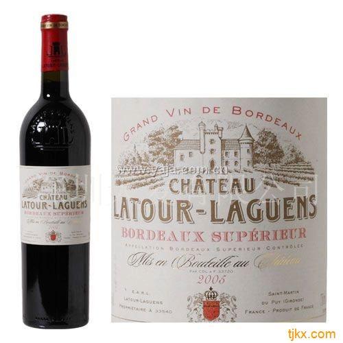 拉图兰爵庄园干红葡萄酒