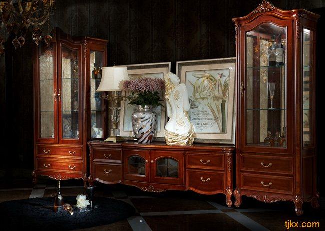 罗曼迪卡电视柜|电视柜价格|欧式电视柜|实木电视柜