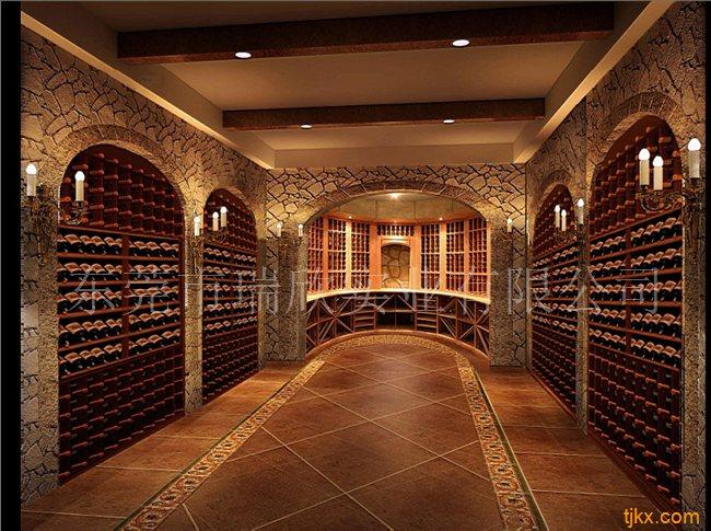私人别墅整体酒窖