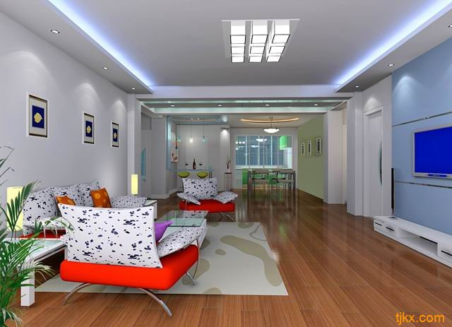 沈阳室内装修样板间城瑞装饰样板间设计新颖品味出众