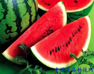 西瓜含有蛋白质,葡萄糖