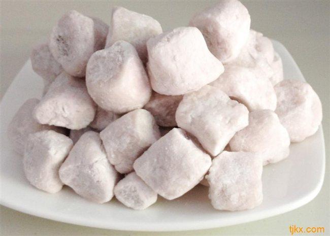 厦门甜品原料鲜仙芋手工芋圆怎么做/哪里有卖找厦门