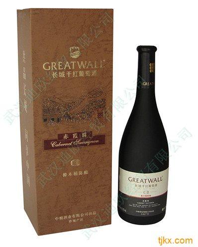 长城橡木桶陈酿干红葡萄酒板盒