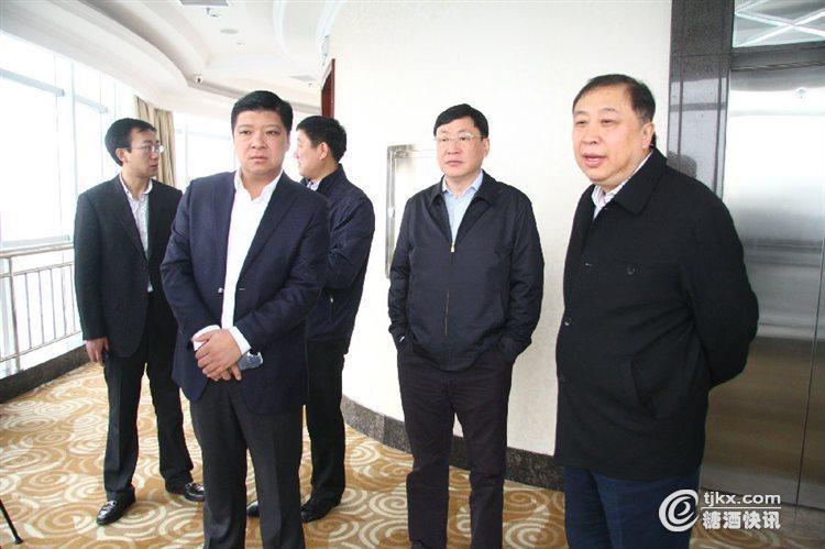 吉林省榆树市市长李洪亮一行到稻花香集团参观考察