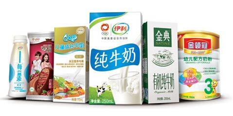 品牌 牵手 底蕴 塑造 伊利/牵手电商用大数据卖牛奶